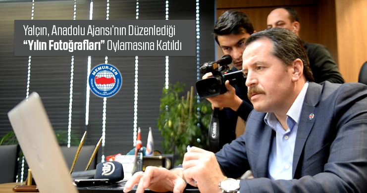 """Yalçın, Anadolu Ajansı'nın Düzenlediği """"Yılın Fotoğrafları"""" Oylamasına Katıldı"""