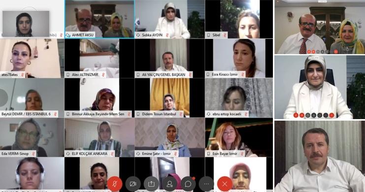 """""""Sendikal Tecrübeler"""" Programının Konuğu Dr. Ahmet Aksu Oldu"""