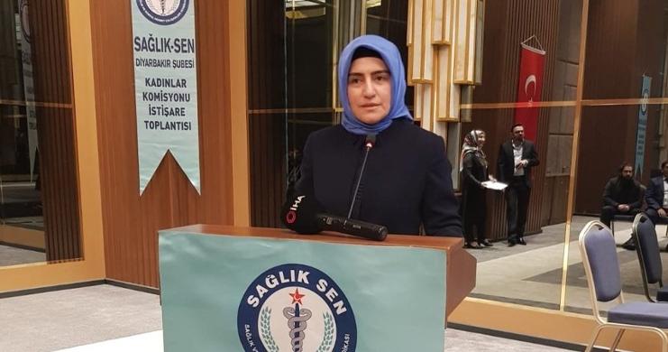 Aydın, Sağlık-Sen Kadın Komisyonu İstişare Toplantısına Katıldı