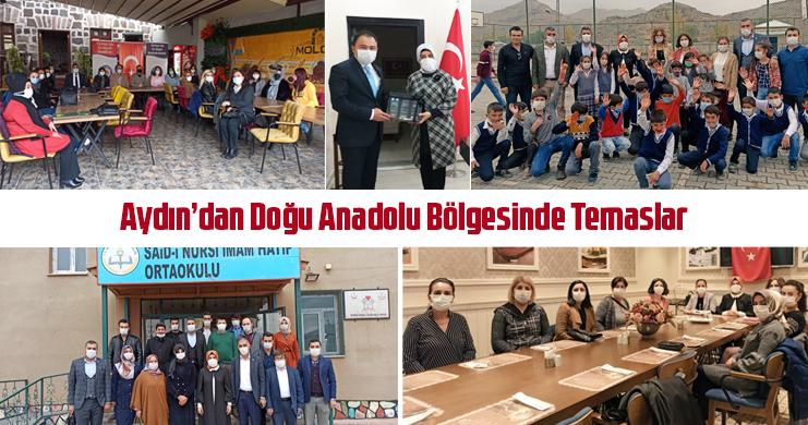 Aydın'dan Doğu Anadolu Bölgesinde Temaslar