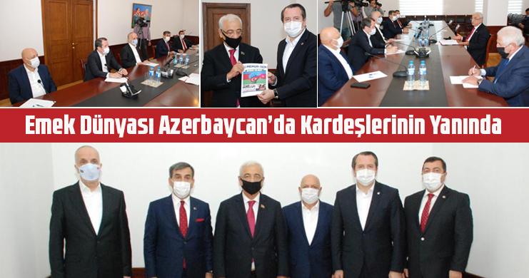 Yalçın: Ninnimiz Karabağ, Türkümüz Karabağ, Umudumuz Karabağ