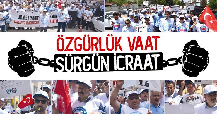 Odunpazarı Belediyesindeki Baskı ve Sürgünlere Karşı Eylem Gerçekleştirildi