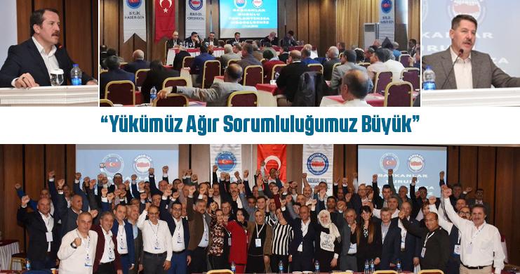 Yalçın, Birlik Haber-Sen'in Başkanlar Kurulu Toplantısına Katıldı