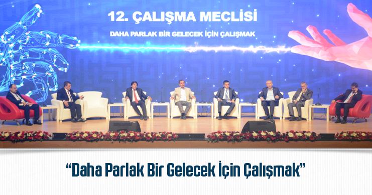 12. Çalışma Meclisi Toplantısı Gerçekleştirildi