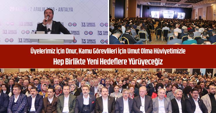 Eğitim-Bir-Sen 13. Türkiye Buluşması Antalya'da Yapıldı