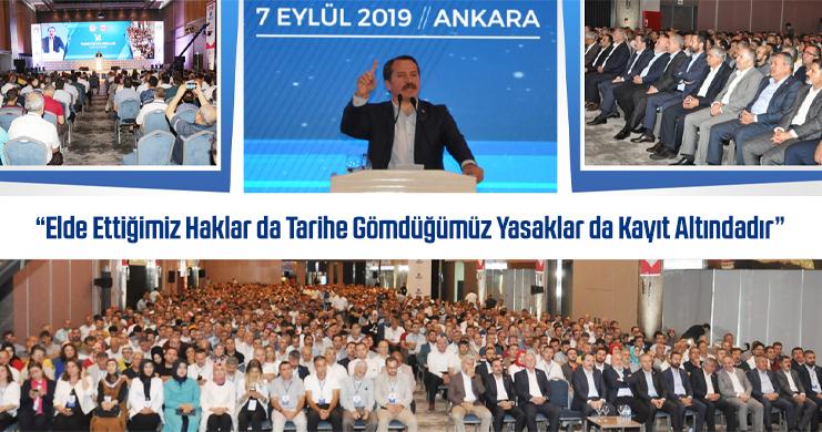 Eğitim-Bir-Sen 14. Türkiye Buluşması Ankara'da Gerçekleştirildi