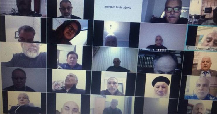 Emekli Memur-Sen Online Teşkilat Buluşması Gerçekleştirildi