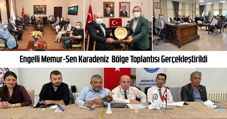Engelli Memur-Sen Karadeniz Bölge Toplantısı Gerçekleştirildi