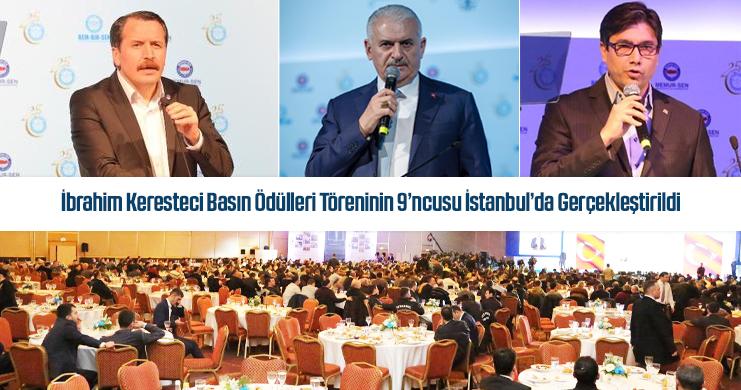 İbrahim Keresteci Basın Ödülleri Töreninin 9'ncusu İstanbul'da Gerçekleştirildi