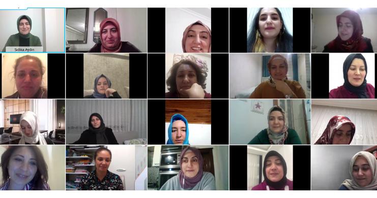 Kadınlar Komisyonu Ramazan Ayı Boyunca Teşkilat Toplantıları Gerçekleştirdi