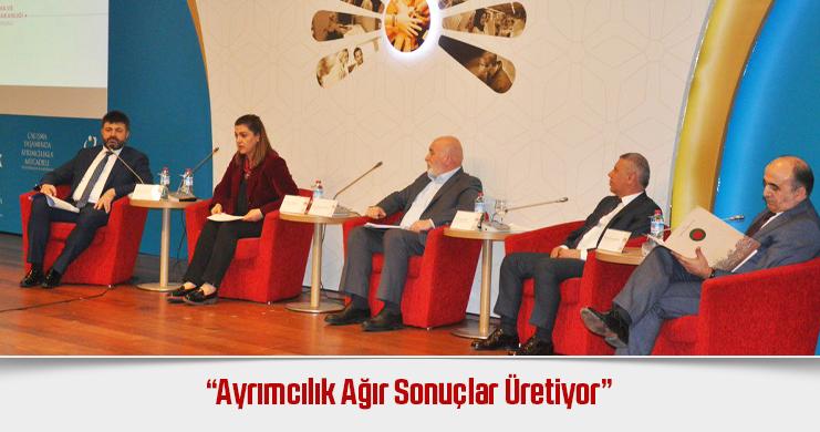"""Tonbul, """"Çalışma Yaşamında Ayrımcılıkla Mücadele"""" Uluslararası Konferansı'na Katıldı"""