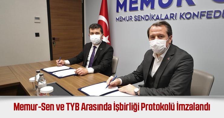 Memur-Sen ve Türkiye Yazarlar Birliği Arasında İşbirliği Protokolü İmzalandı
