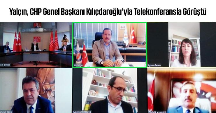 Memur-Sen Genel Başkanı Ali Yalçın, CHP Genel Başkanı Kılıçdaroğlu'yla Telekonferansla Görüştü