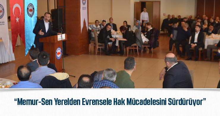 Yalçın Erzurum'da İl Divan Toplantısı'na Katıldı