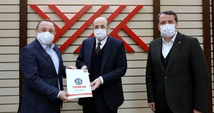 YÖK Başkanı Saraç ile Lisans Tamamlama Talebimize İlişkin Bir Görüşme Gerçekleştirdik
